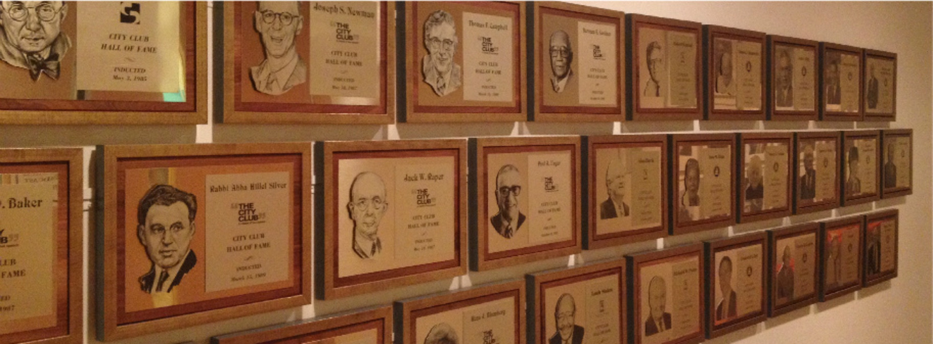 Honoring the 2015 Hall of Fame Inductees