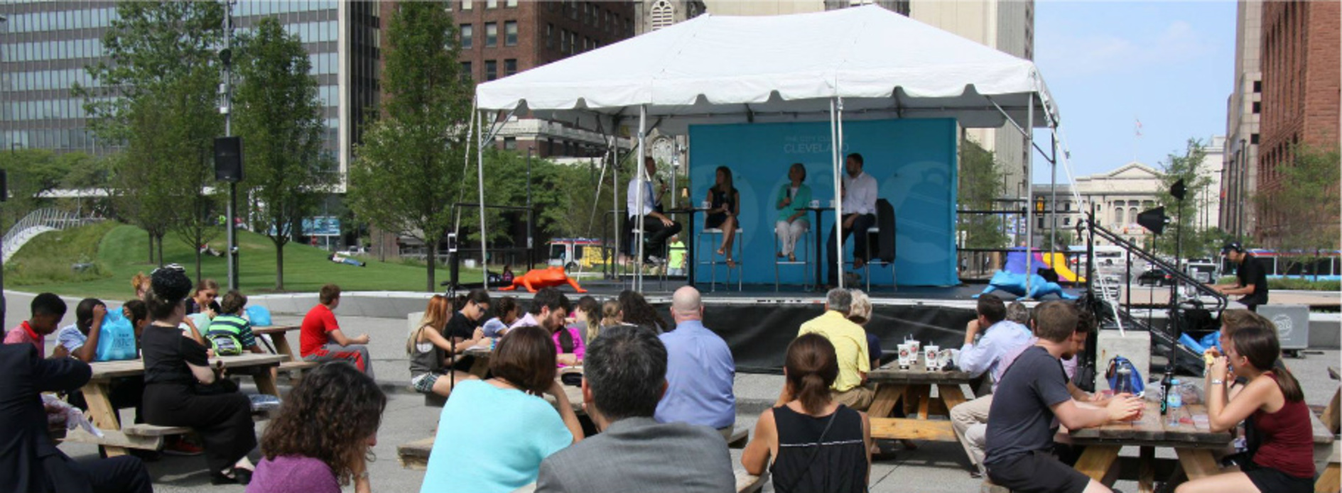 Love Cleveland? Then Join Us In the Square this Summer