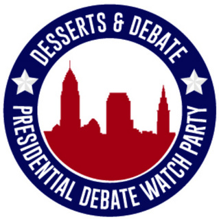 Desserts & Debate: Greater Cleveland Caucus Presidential Debate Watch Party